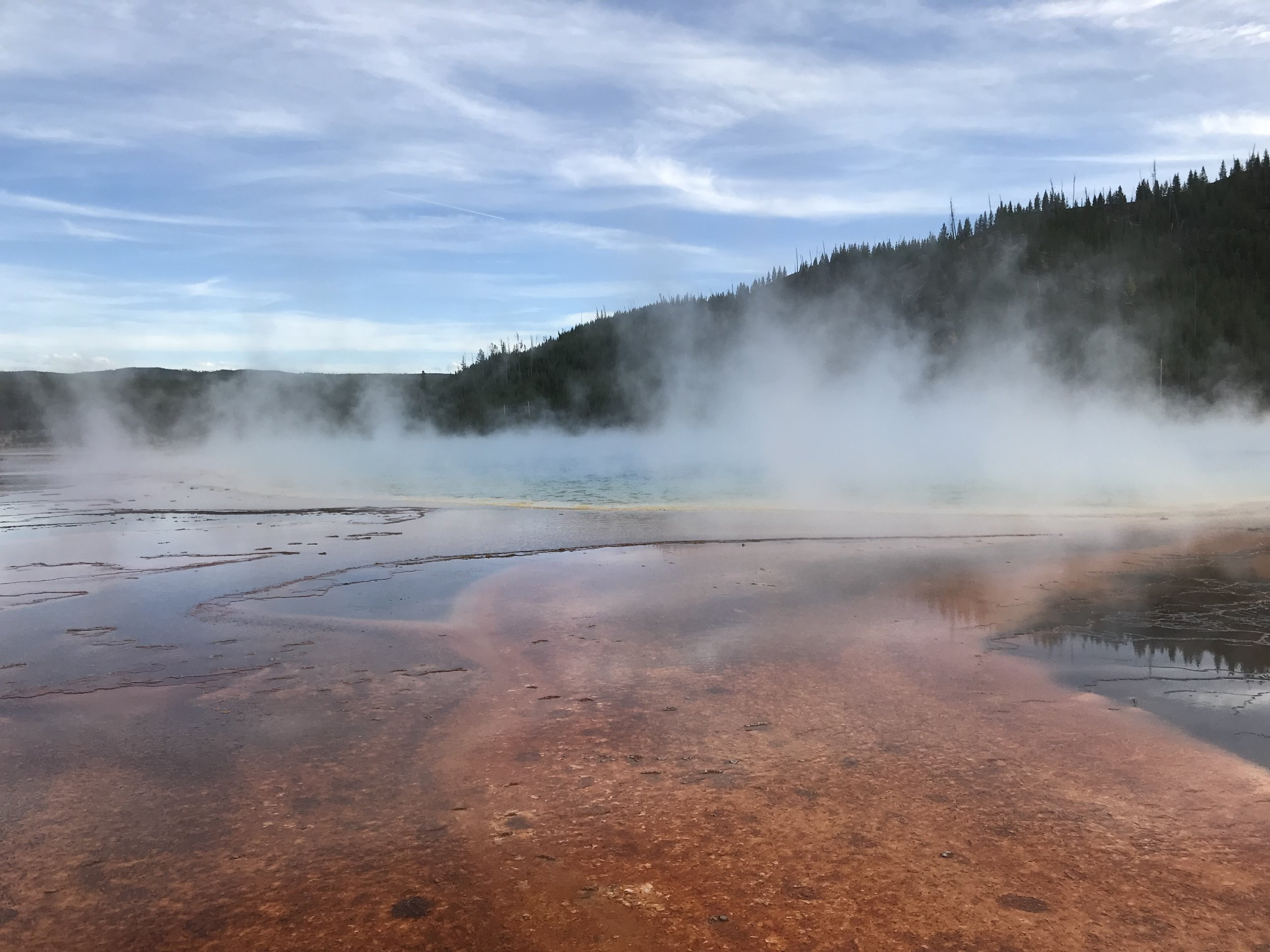 Prismatic Hot Springs, Yellowstone National Park