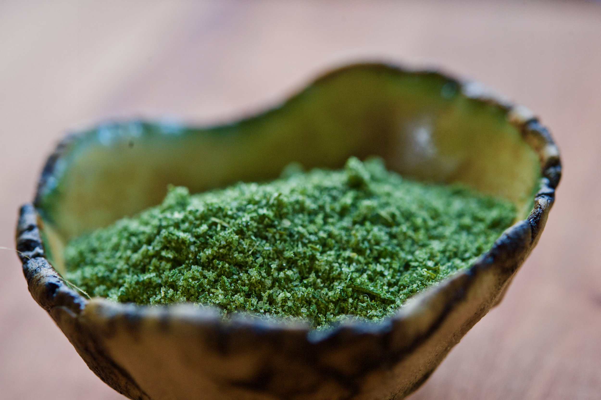 ramp salt is an excellent way to preserve the plant's elusive wild flavor
