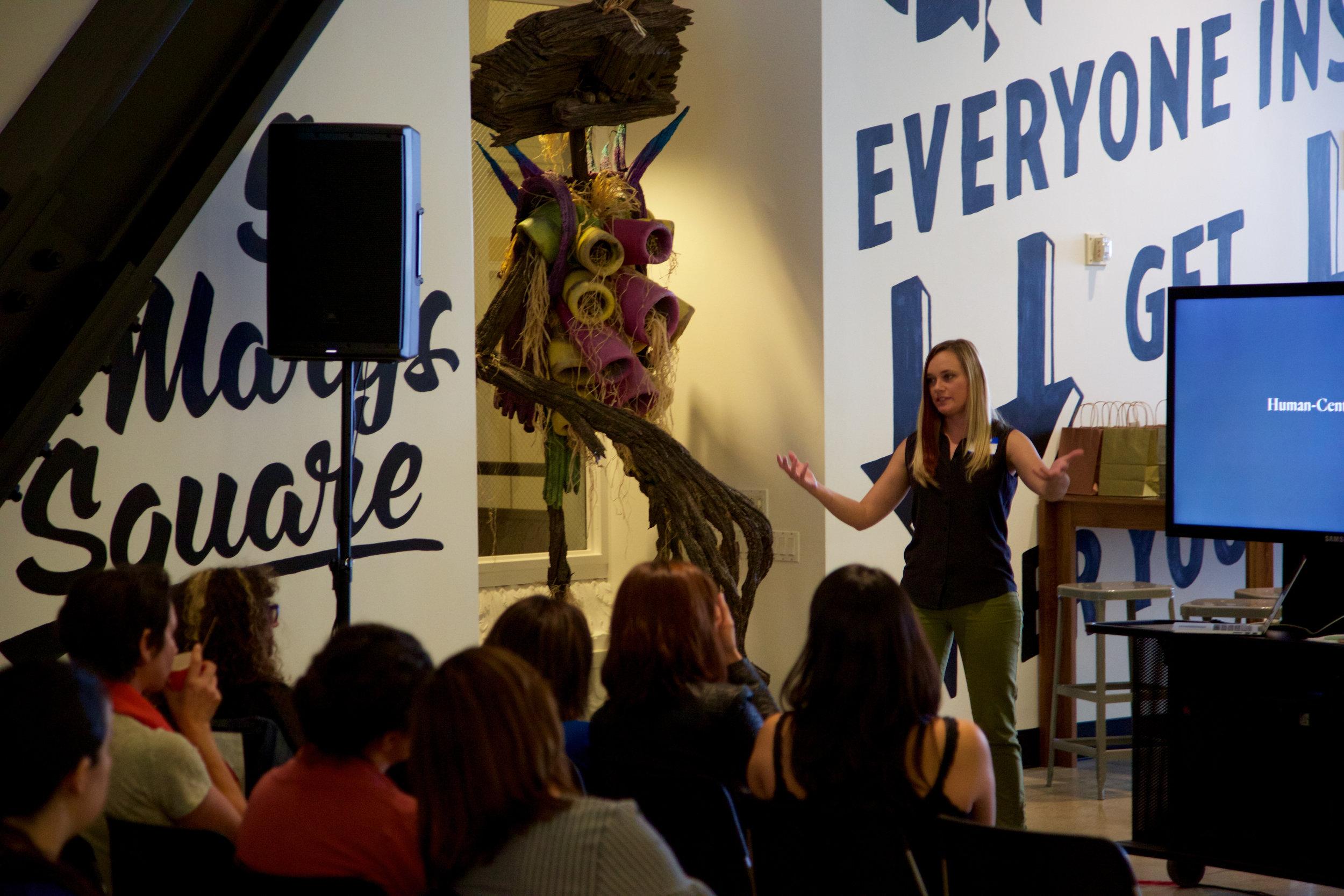 Speaker Melanie Williams from Frog Design