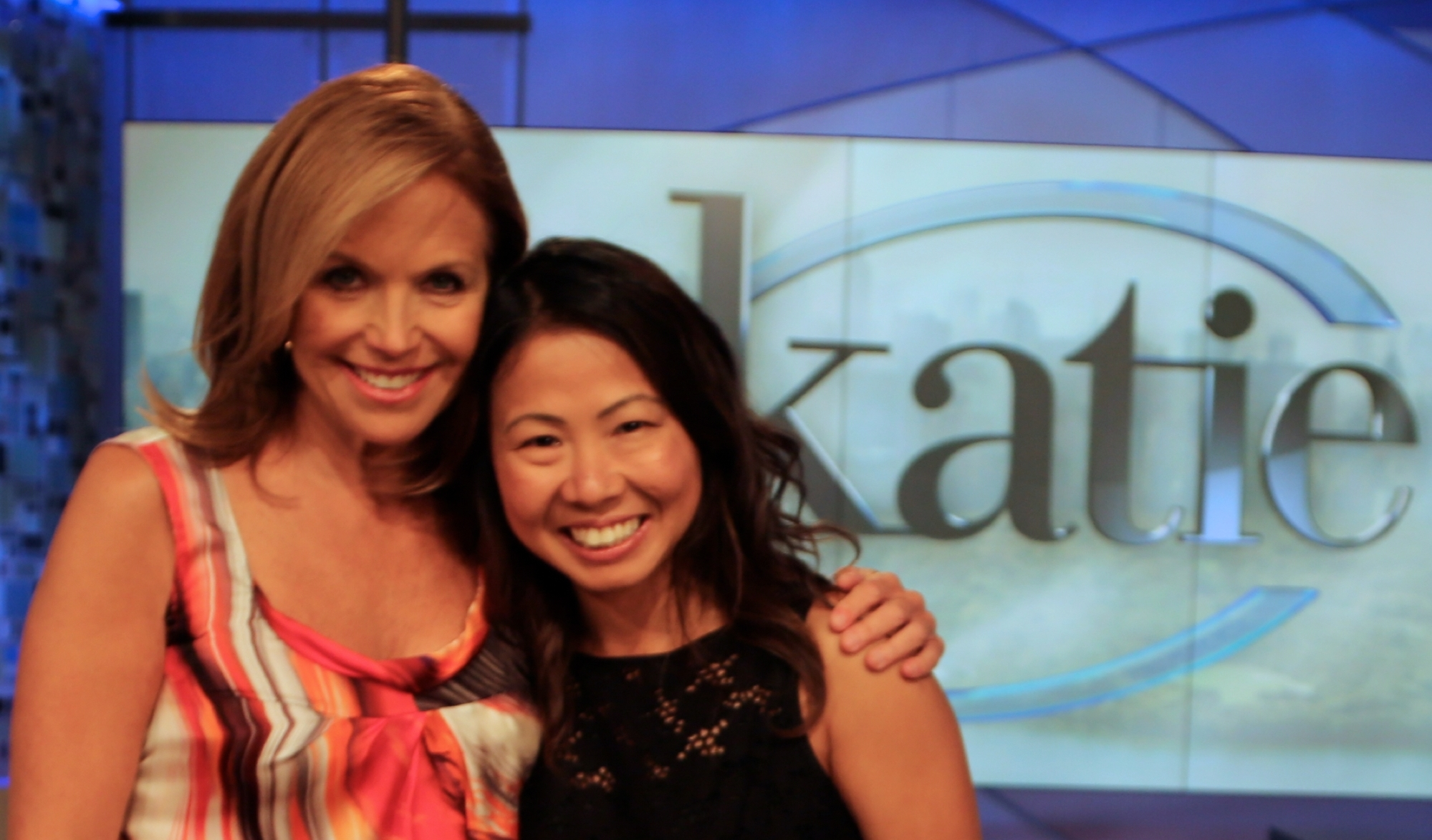 THE KATIE SHOW - Journalist Katie Couric dedicated an entire episode of her TV show on ABC on the topic of breadwinner wives, titled Alpha Women. She loved The Big Flip so much that she flew director Izzy Chan and one of our Big Flip families, Bonnie and Chip (and their newborn daughter Mabel Mei!) to New York for an interview.