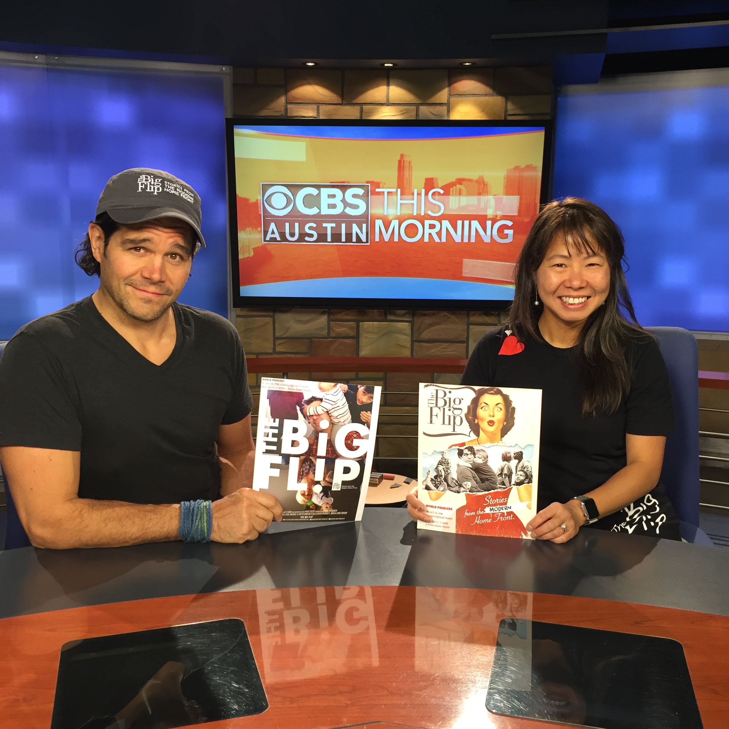 On CBS Austin before the premiere
