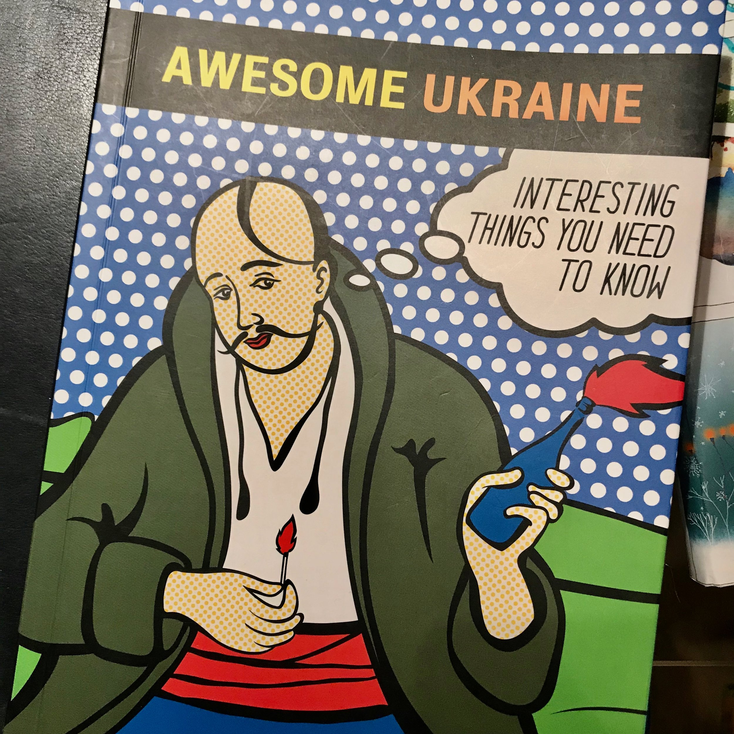 A beautifully designed cultural guide to Ukraine, thanks to the Kyiv Academy of Media Arts.