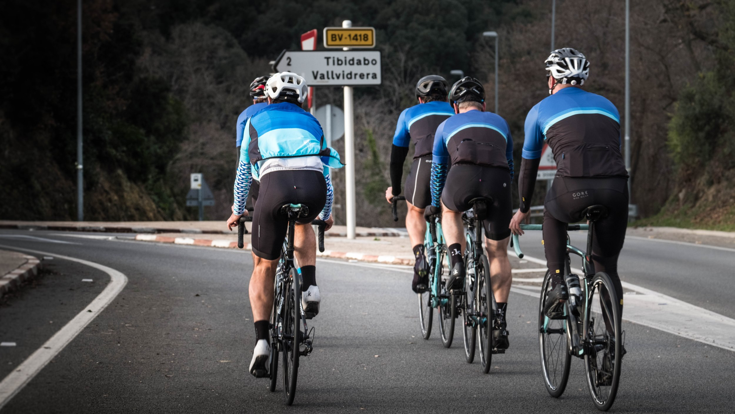 CUSTOM TRIPS - We organise your cycling trip, support your corporate events and make sure you only have to worry about riding your bike.