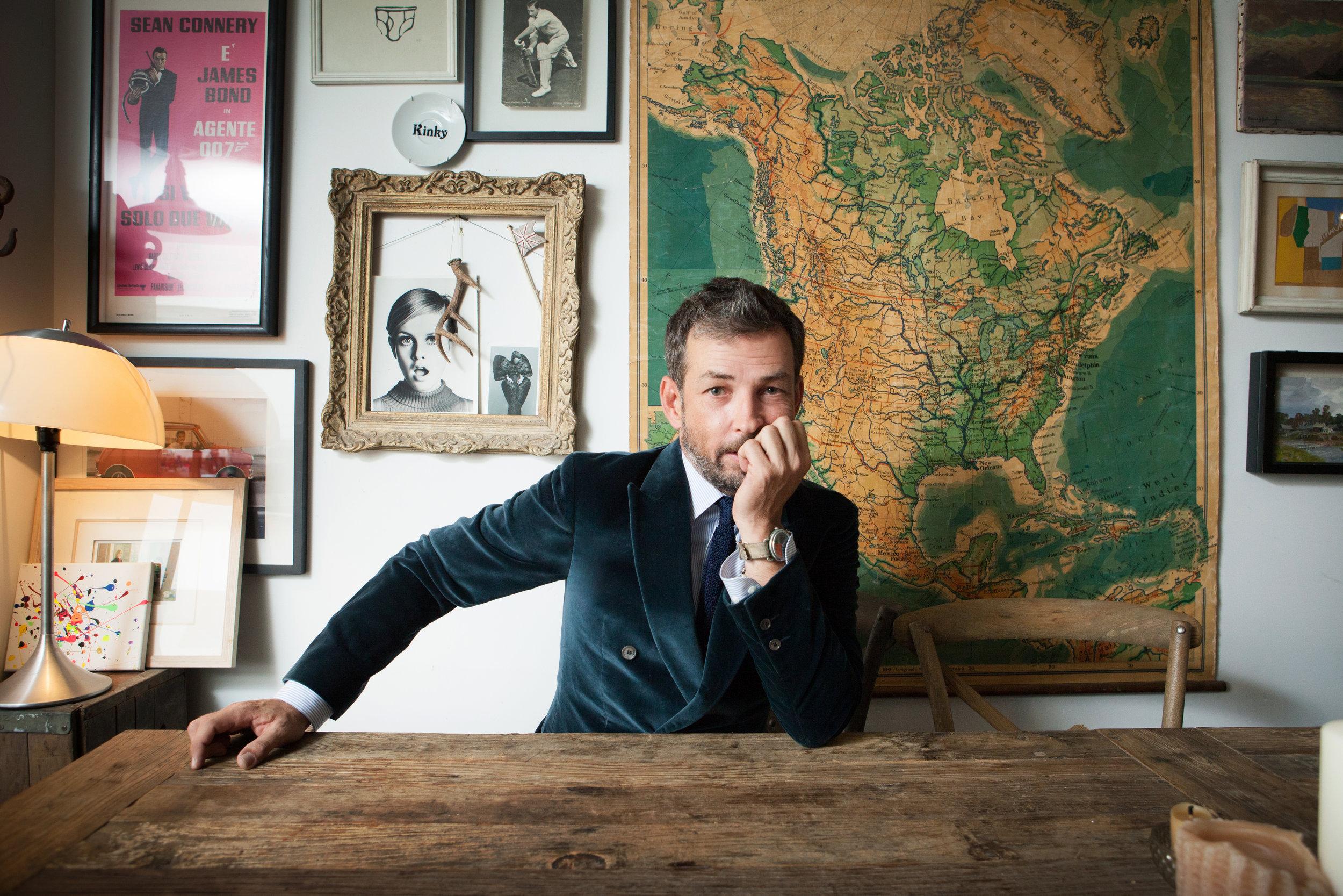 Nick Sullivan, Fashion Director Esquire