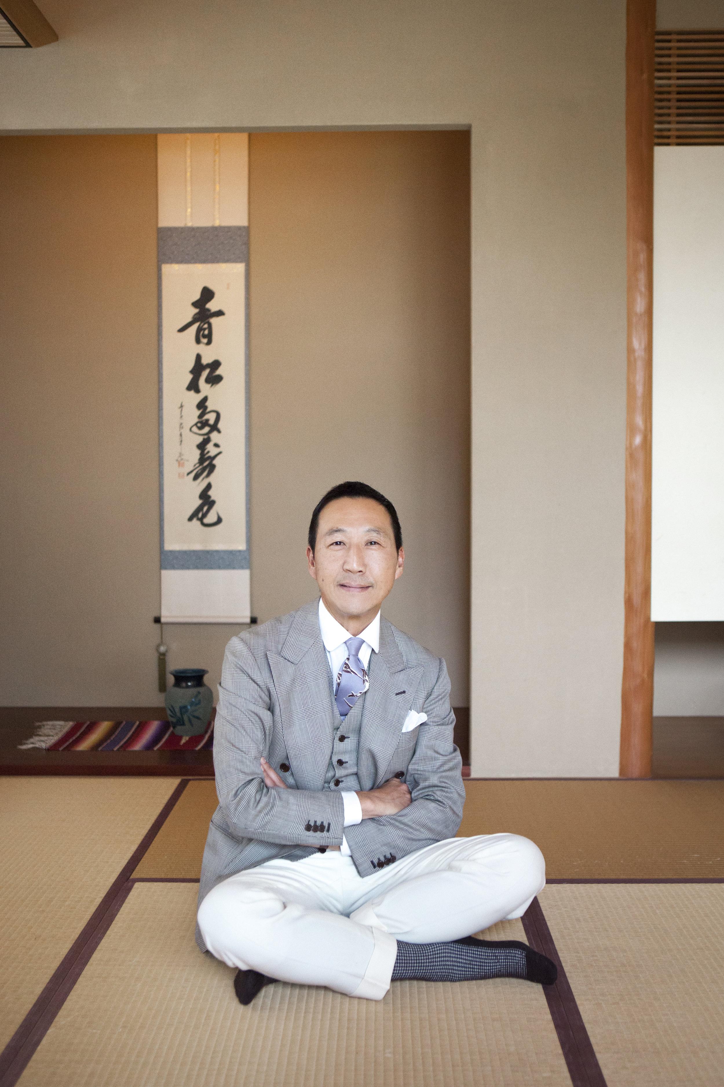 Yasuto Kamoshita of United Arrows