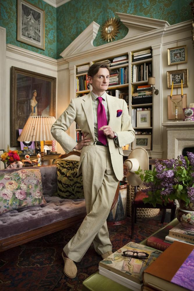 Hamish Bowles, European editor-at-large American Vogue