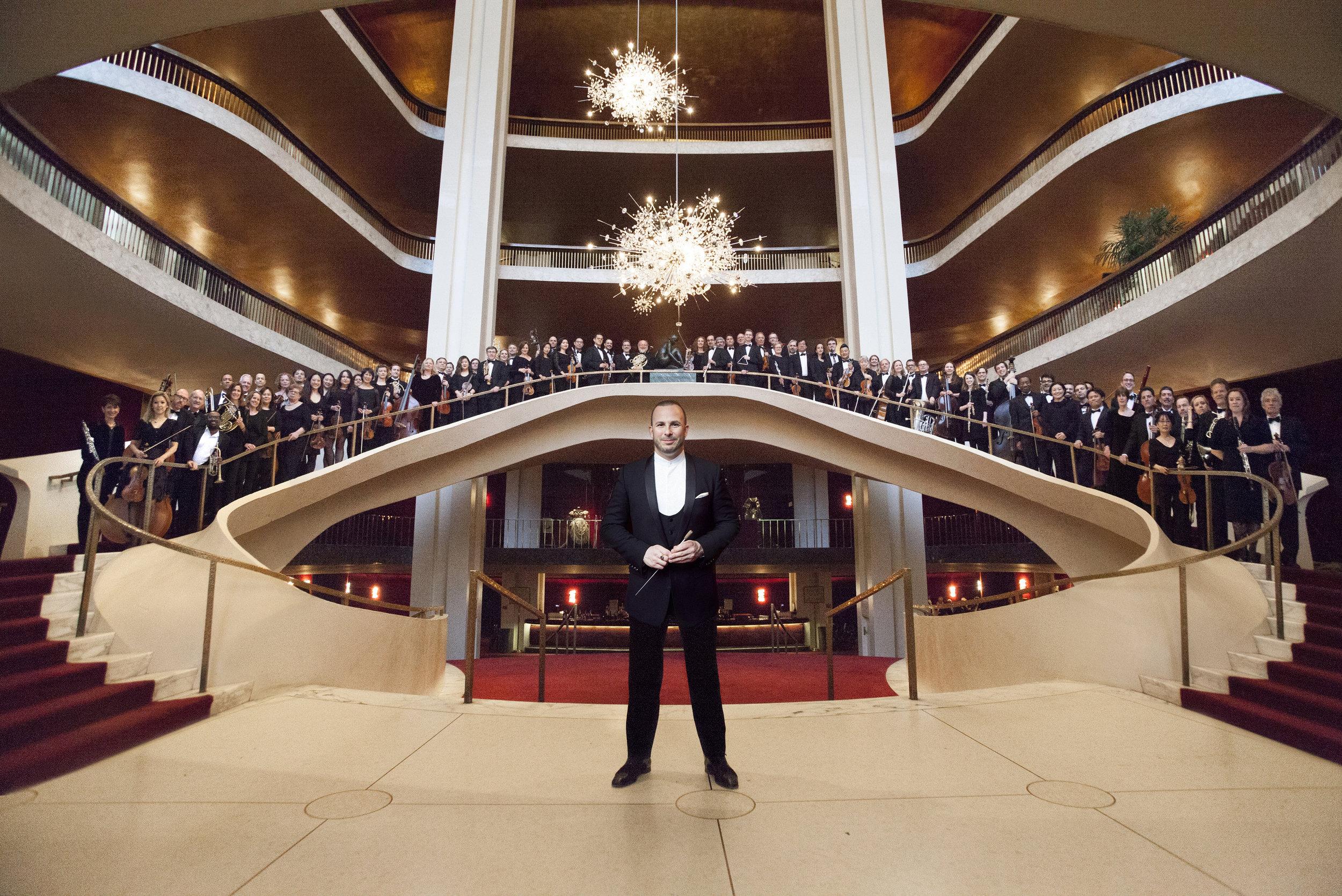 Yannick Nézet-Séguin with Metropolitan Opera Orchestra