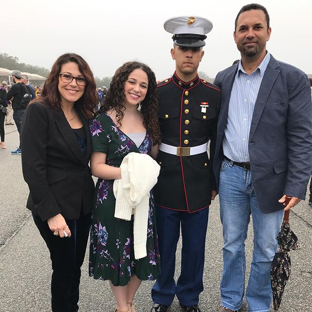 My new Marine graduated last Friday!  Are you part of a military family?  #marines #military