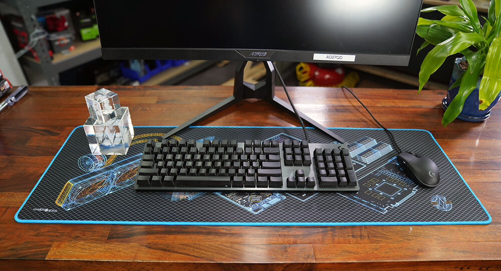23x19cm Matrix Code Grüner Regen Mauspad Mousepad Gaming #92601