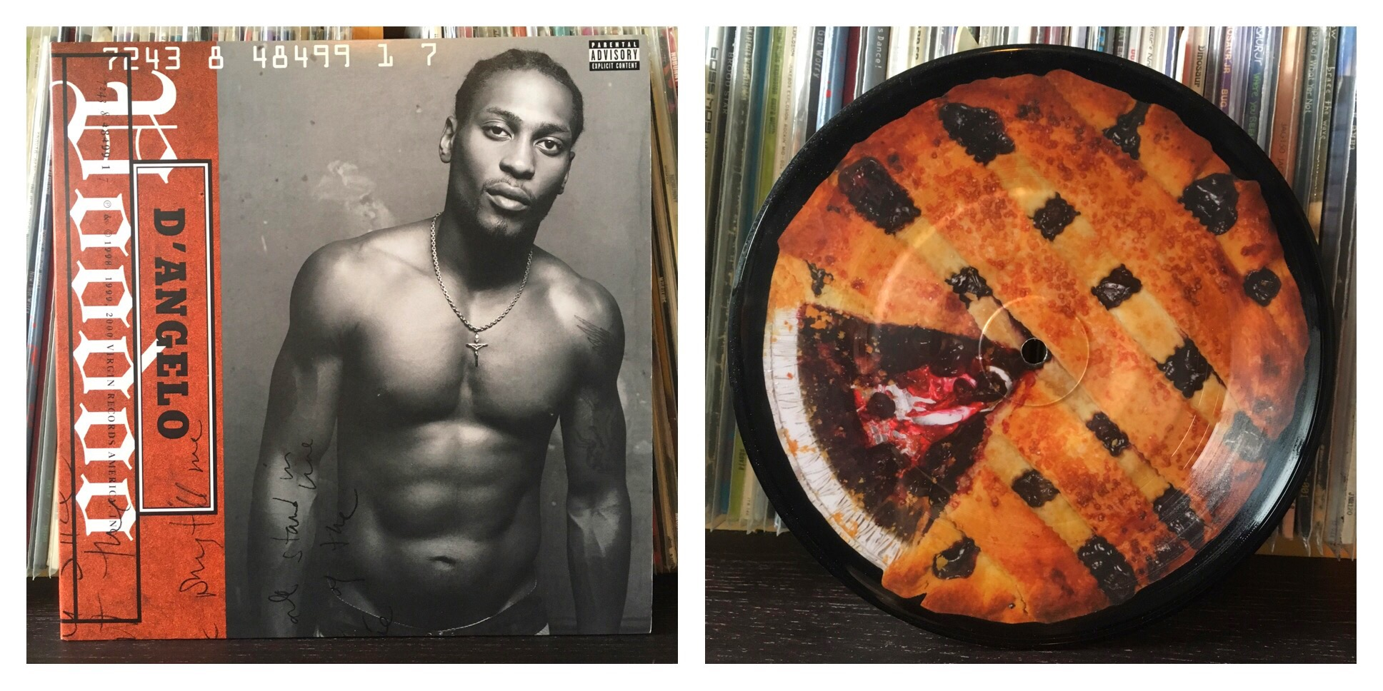 Track 9. Devil's Pie. D'angelo vs. Hanni El Khatib    i very recently did an extensive post on Hanni El Khatib on this very same blog you're reading, so check that out if you haven't! all praises to R&B/soul/blues/funk gawd D'angelo. i grew up on punk & hip hop and never had much love for R&B back then, in the rap era i came up in a major cliche was to talk shit on anything with R&B hooks, though then half the emcees saying that would of course go ahead & eventually do exactly what they had been dissing previously. so anyway, i was late to that game. as i got older & flushed out my musical tastes some more i found i fucked with this cat's music heavy. i segued into some neo-soul like this through rocking Dilla & Soulquarians. HEK is a master of covers (so yup you guessed it... more on vol. 2), he kills his version of the classic originally from Voodoo & co-produced by DJ Premier of Gang Starr. plus it was pressed on that delicious pie picture disc for RSD2015