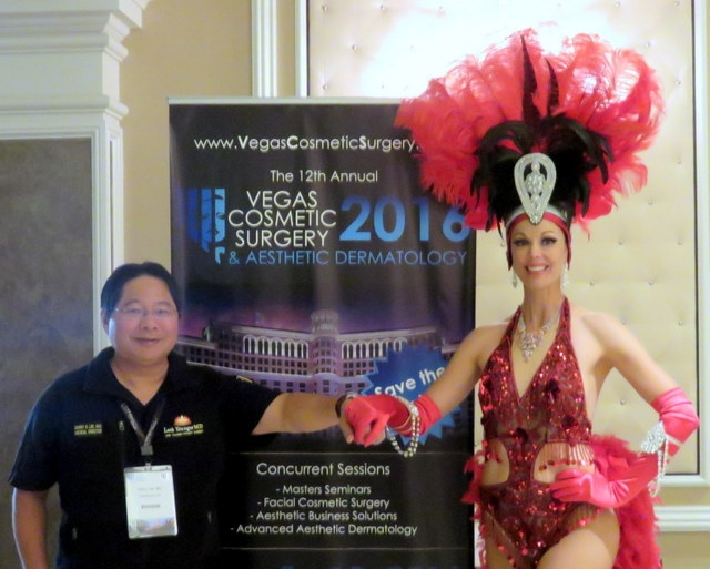 Dr. Garry Lee at The 12th Annual Vegas Cosmetic Surgery & Aesthetic Dermatology Show in 2016.