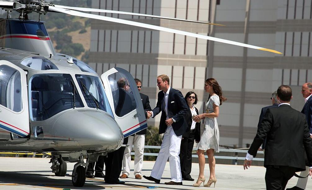 HRH Prince William and Princess Kate