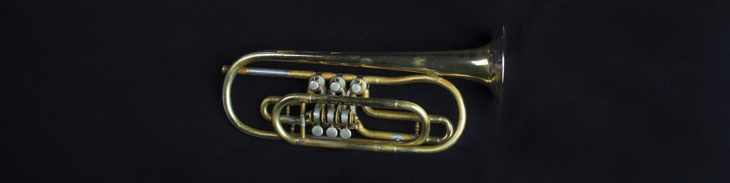 Heckel Trumpet in F Alto, 1882