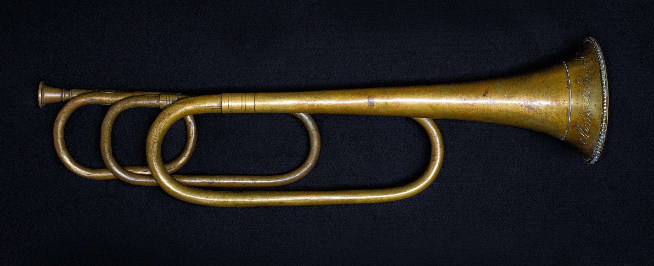 Natural trumpet by Michael Saurle, Munich, c. 1810