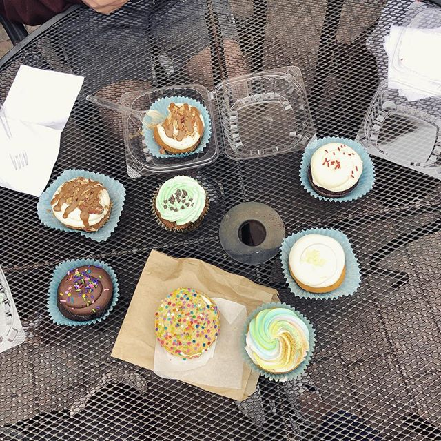 cupcake break!!