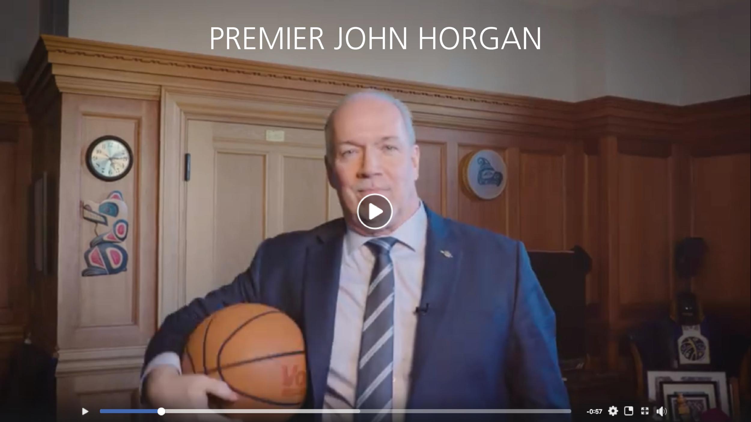 PREMIER JOHN HORGAN