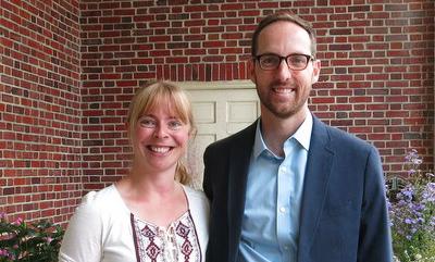 Claudia West and Thomas Rainer