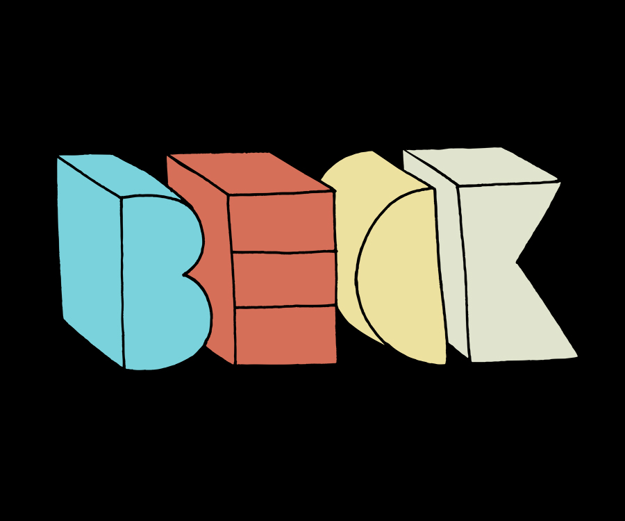 BECK. Tour Merchandise.