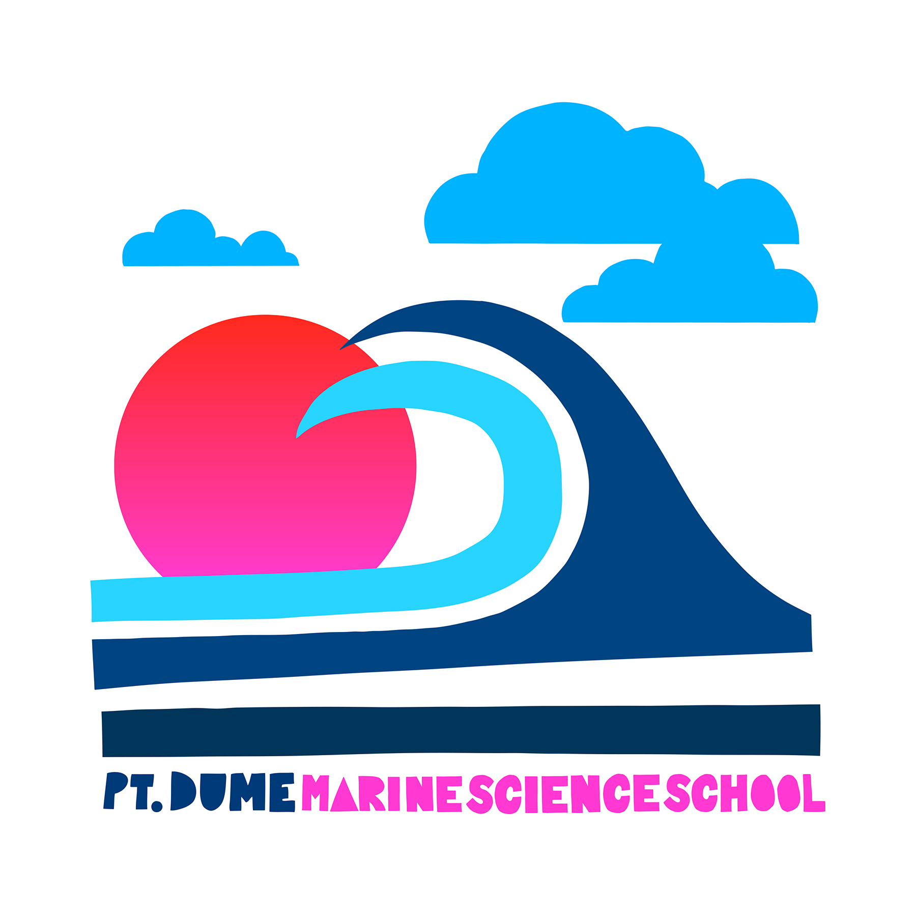 Point Dume Marine Science School. Spirit Wear. Malibu, CA.