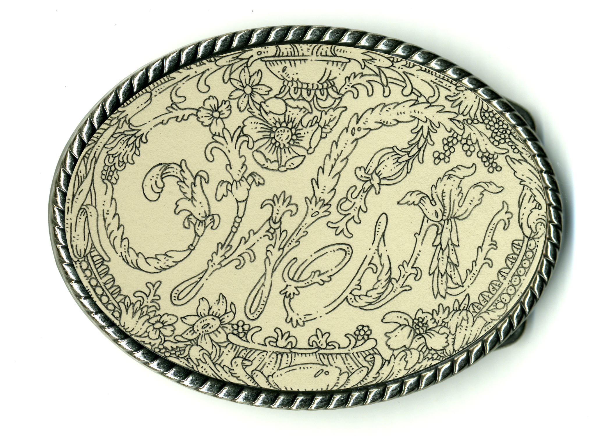 West Belt Buckle. 2010.