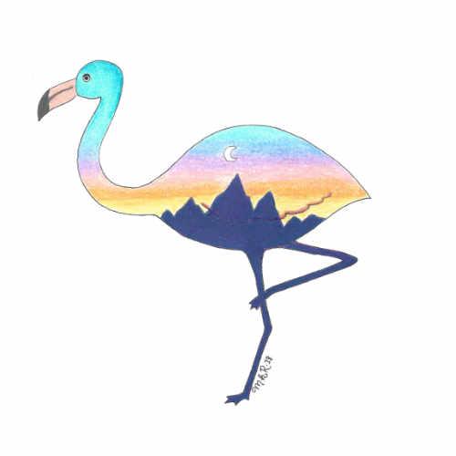 Intelligent Landscape Flamingo