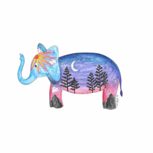 Intelligent Landscape Elephant