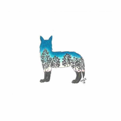 Intelligent Landscape Wolf