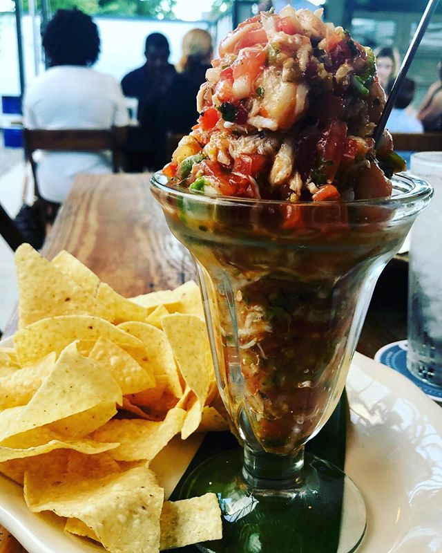 Goode's Campechana #creative #trash #houston #houstonrestaurants #goodecompany #ceviche