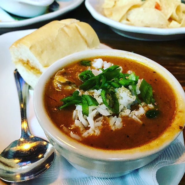 Gumbo Love #gumbo #houston #houstonrestaurants #goodecompany #creole #creolefood #creolecuisine