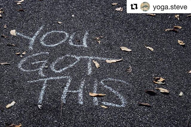 """No! I DON'T got this! I'm too stressed. Too tired. My back is sore and my kids are driving me crazy. I hate my job and and I can't get the bad thoughts out of my head and .... . Breathe - 1  2  3. . . ""Ok, @yoga.steve! You're right. I got this!"". . . #Repost @yoga.steve (@get_repost) ・・・ A little update to this week's teaching schedule, classes are being taught at both Half Moon Power Yoga and Transcend-SA in San Antonio, TX. Stay tuned for updates as I do sub other classes on a regular basis. Thanks to everyone for their love and support.  Sunday 1/7 @230pm 75min Power Flow at Transcend SA Yoga