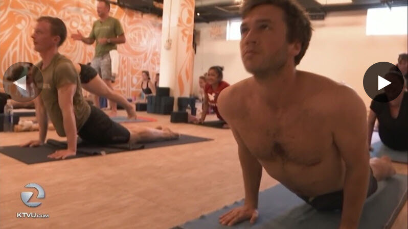 KTVU: June 10, 2018 - Alameda nonprofit provides yoga for veterans with PTSD