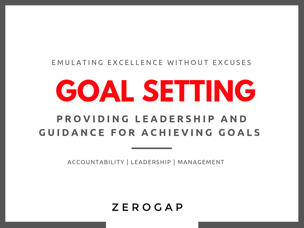 FREE DOWNLOAD - goal setting for leaders
