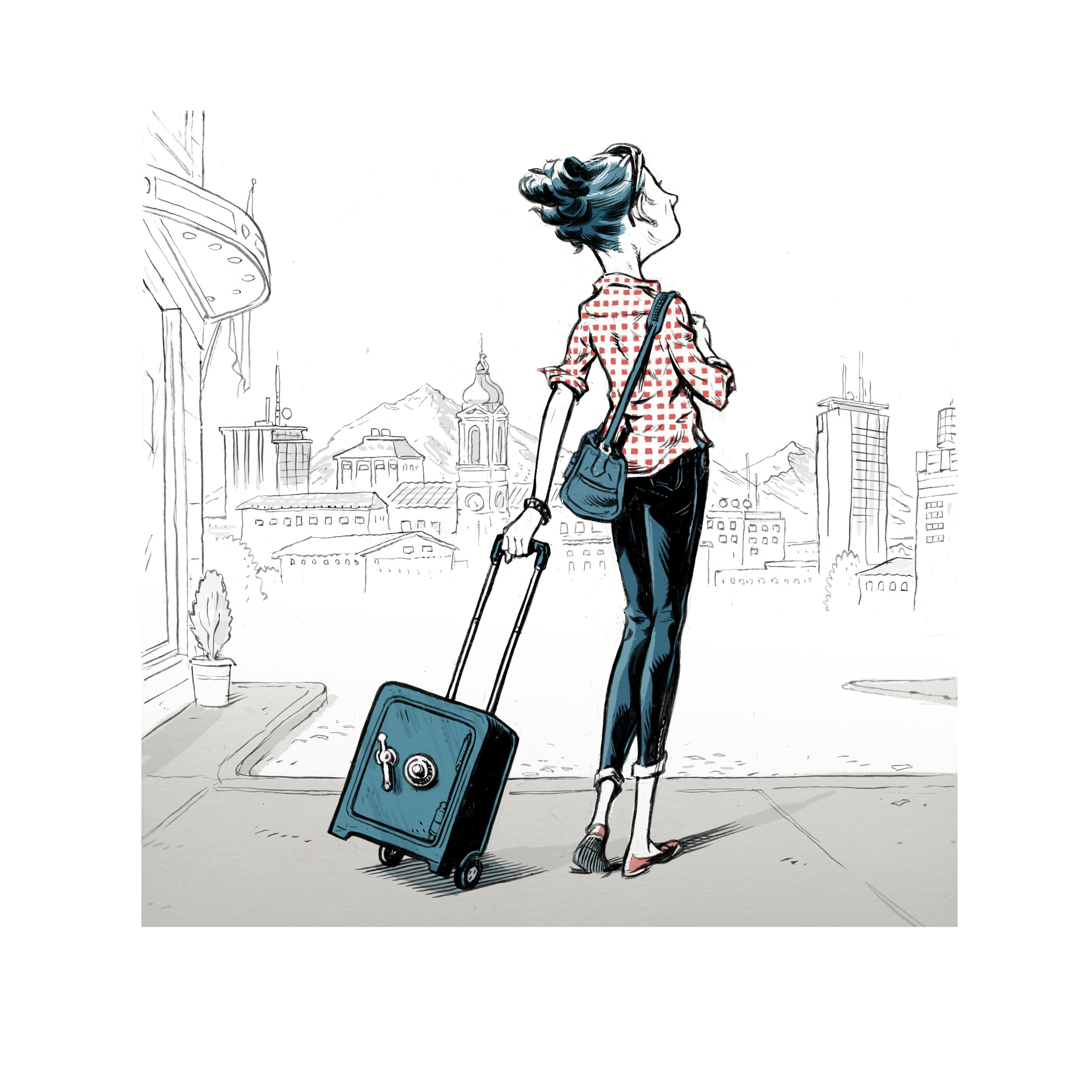 Travel Tips: Preventing Theft