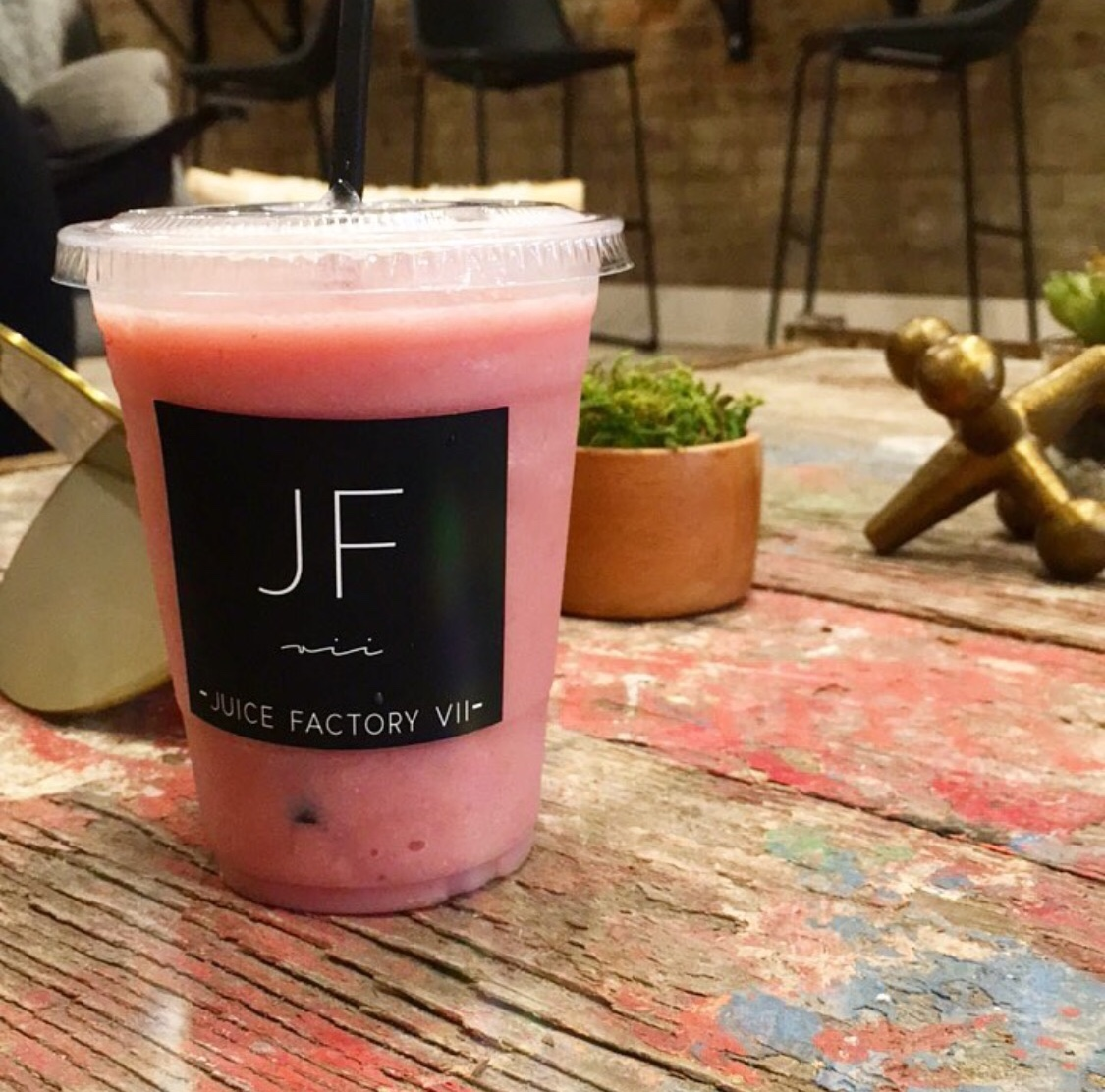 Smoothie at Juice Factory VII in Troy NY