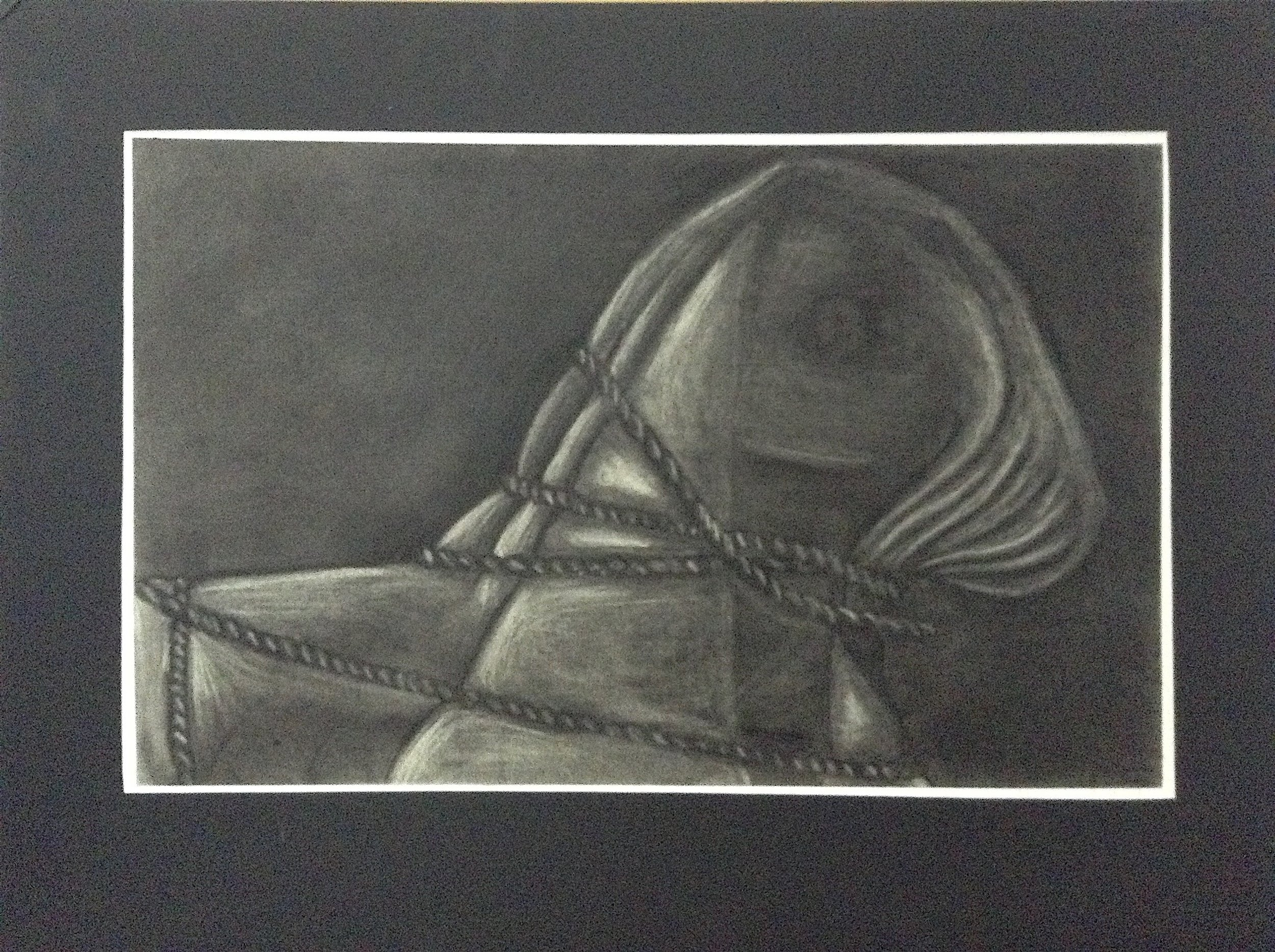 Charcoal, 24 in x 18 in