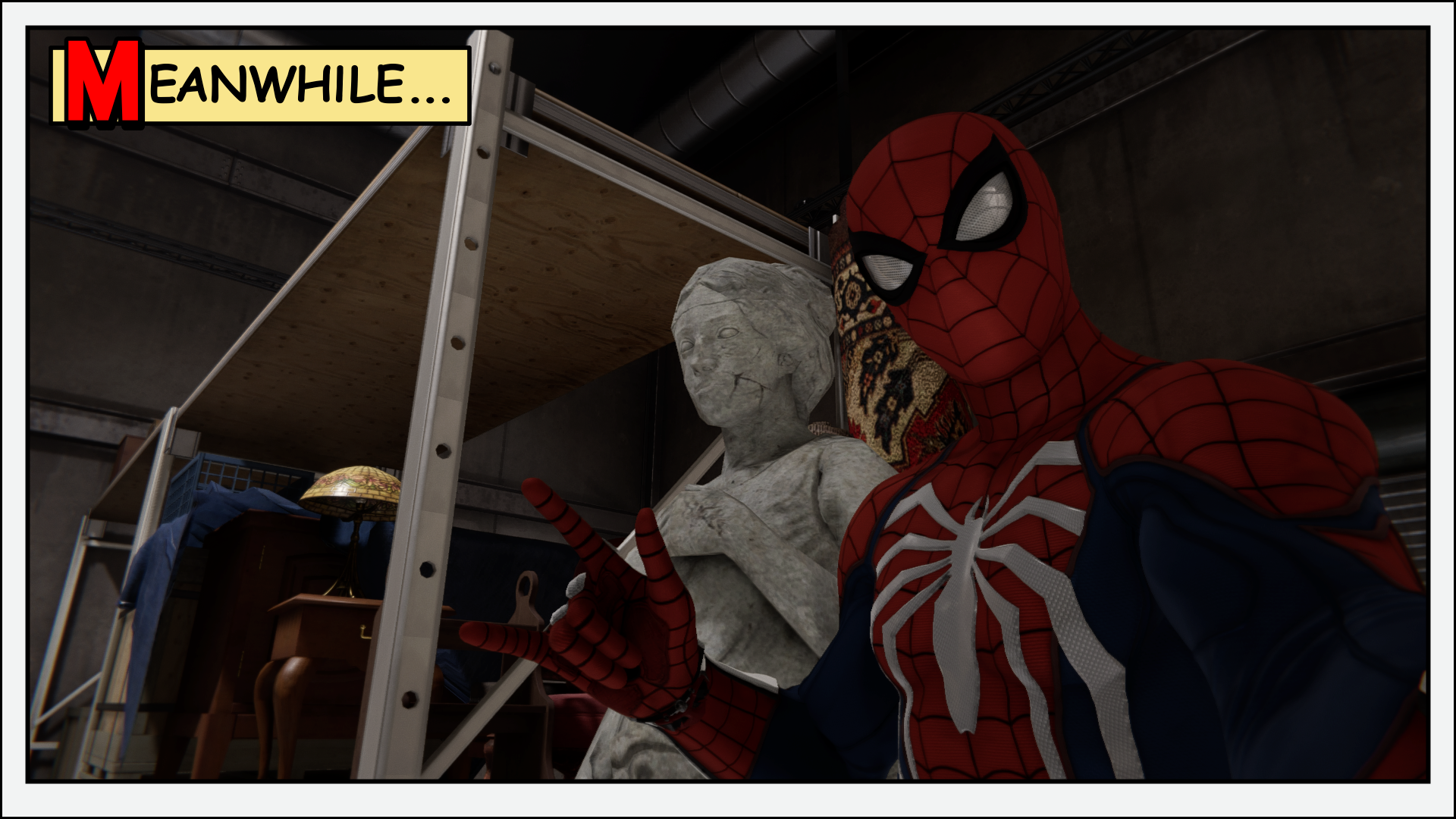 More photo mode goofing.