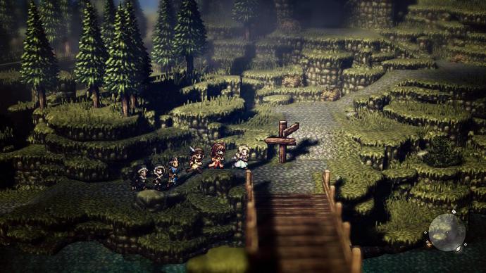 I wonder if all of  Octopath Traveler  looks this good. (source:  Eurogamer )