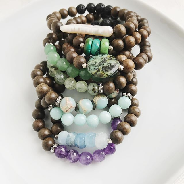 I recently had the pleasure of sending out this beautiful order ✨ someone is definitely starting their stacks! 😍
