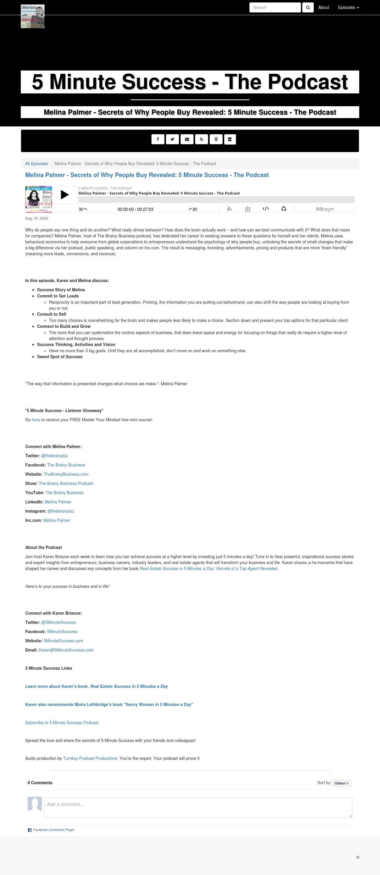 Libsyn.com (original post from client's host company)