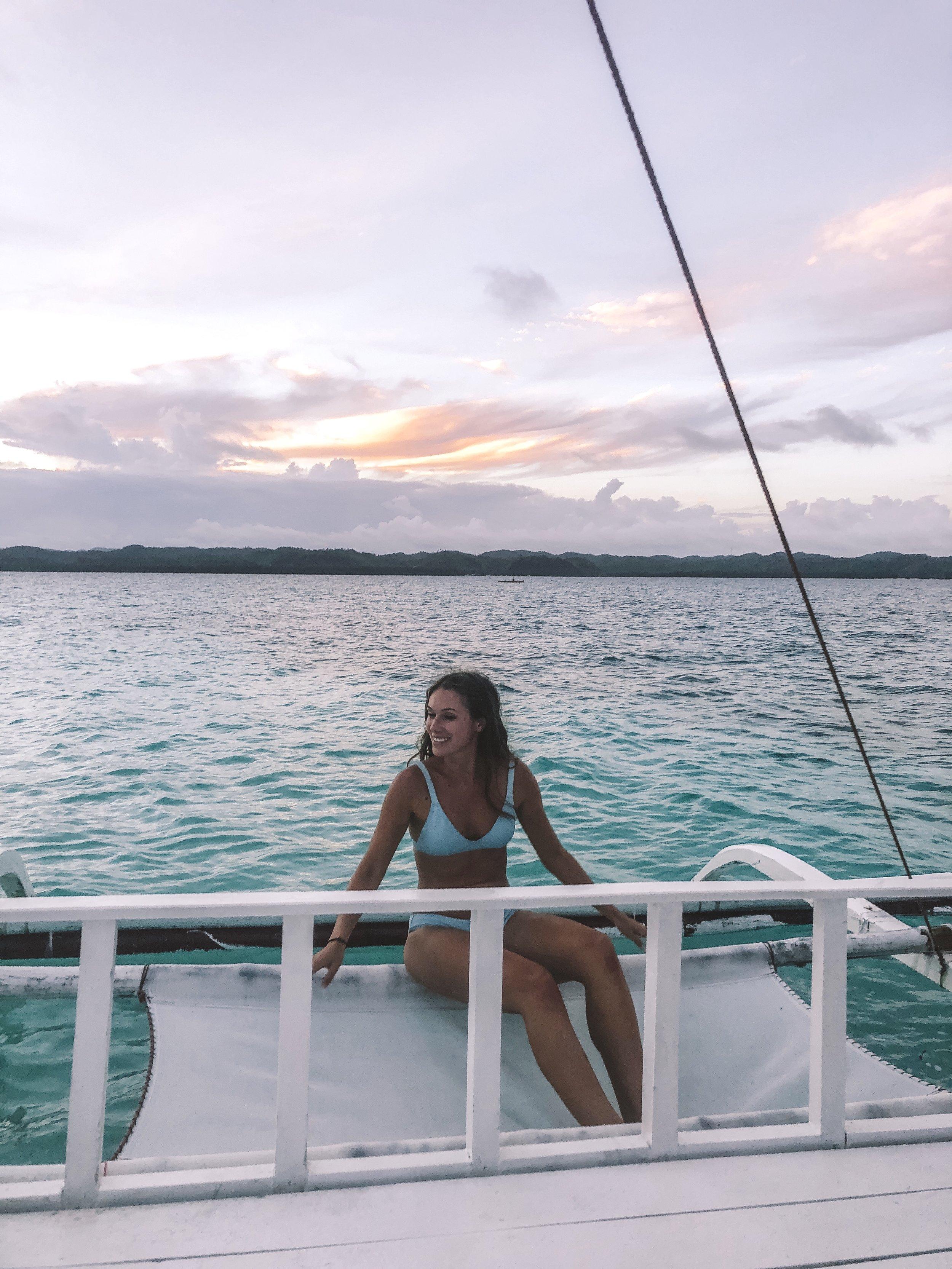 Island Hopping - Naked Island, Siargao