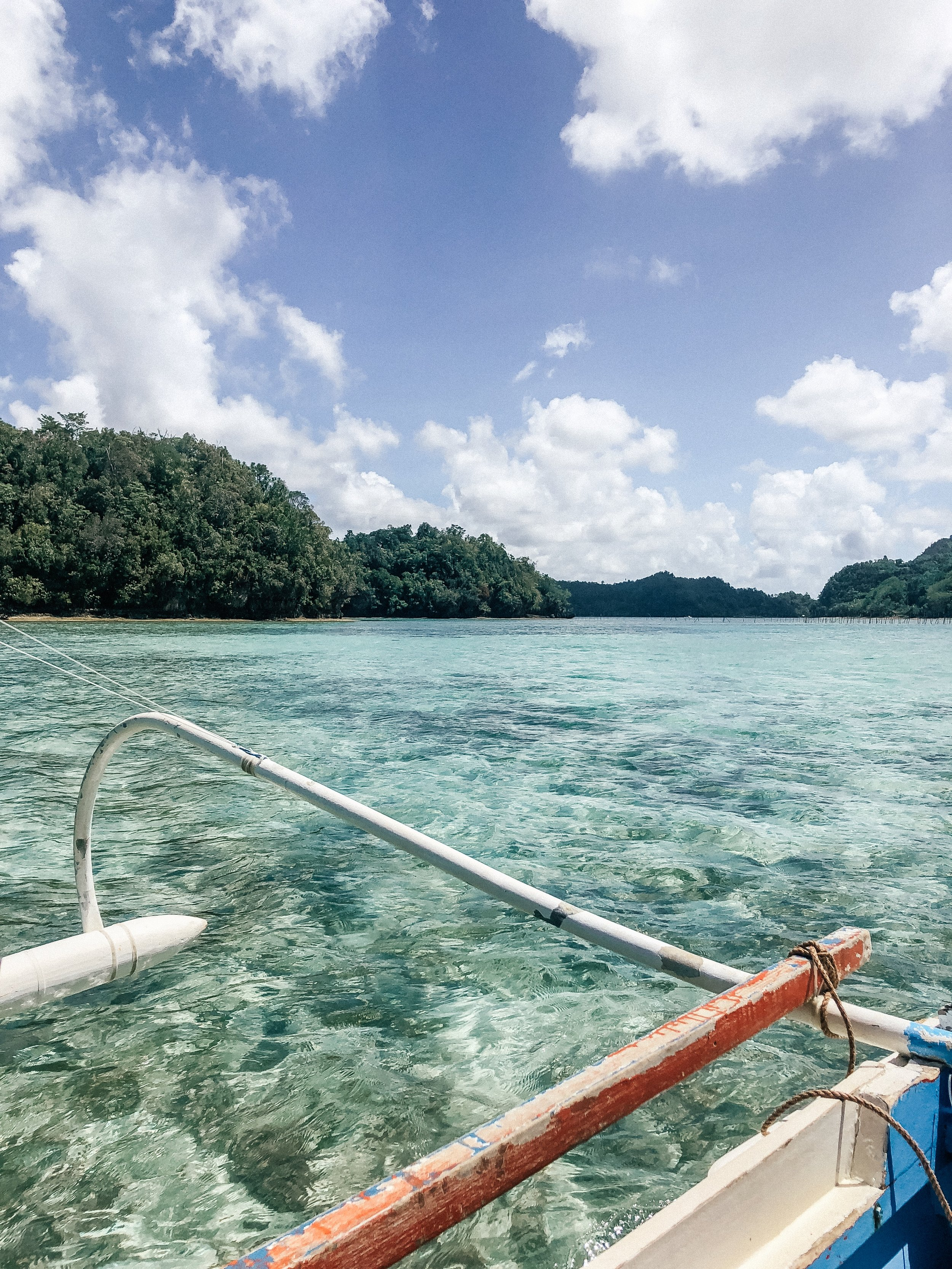 En Route to Sugba Lagoon, Siargao