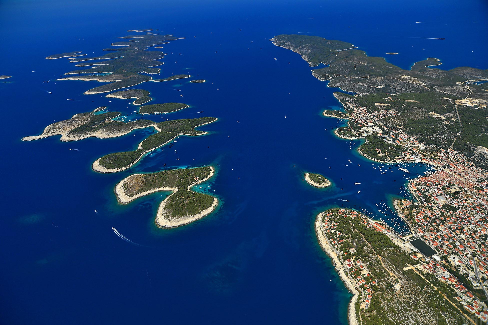 Hvar Town & Pakleni Islands