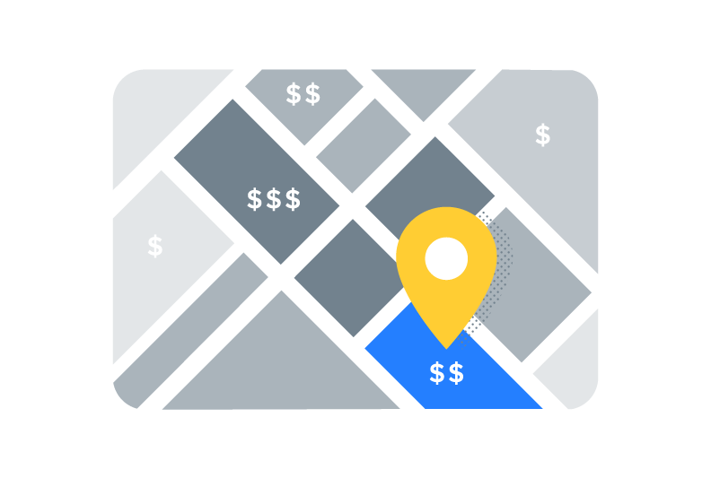 Track Economic Health Nearby - See how businesses are growing nearby and where your business fits in