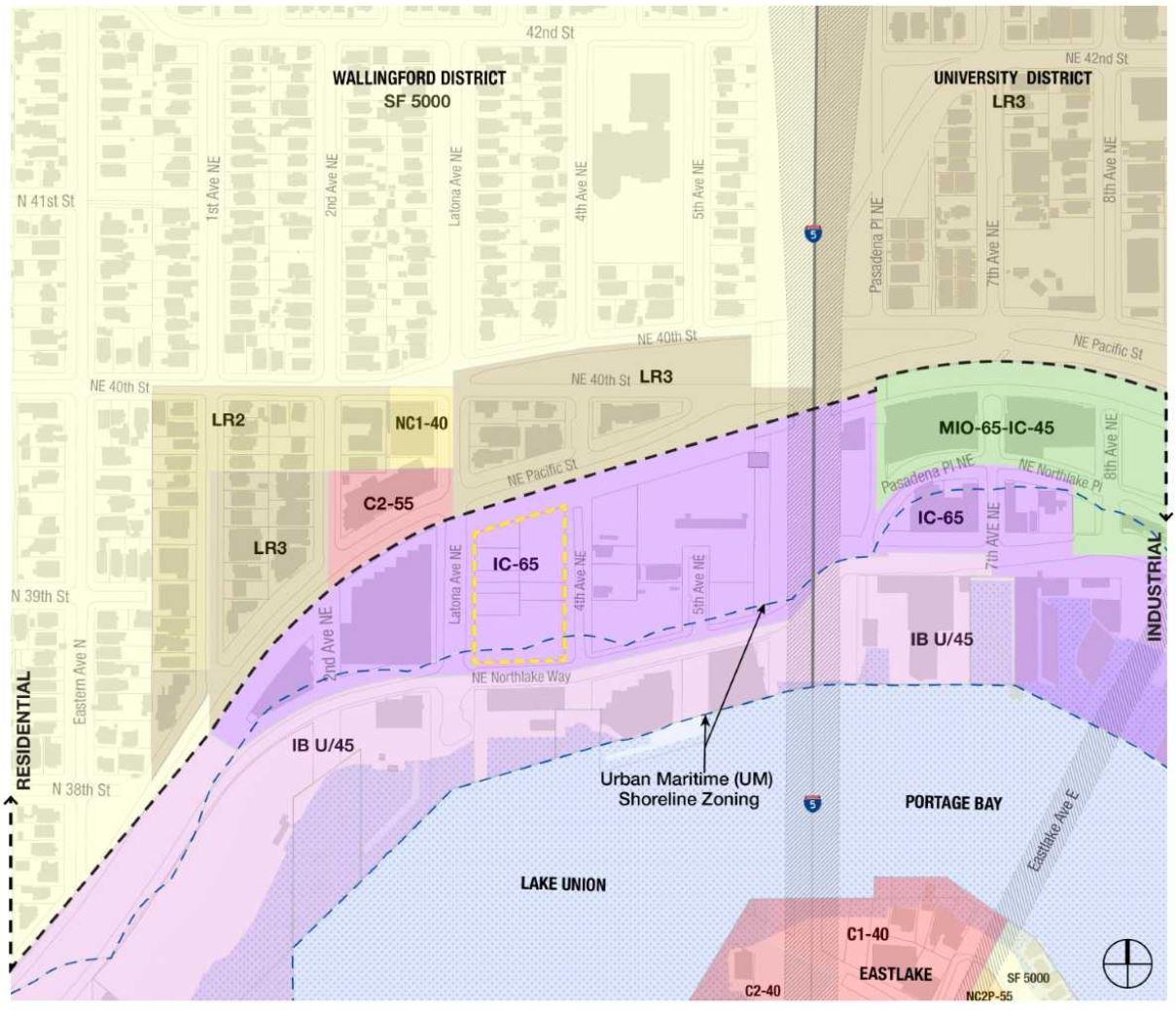 Map of Shoreline Zoning.JPG