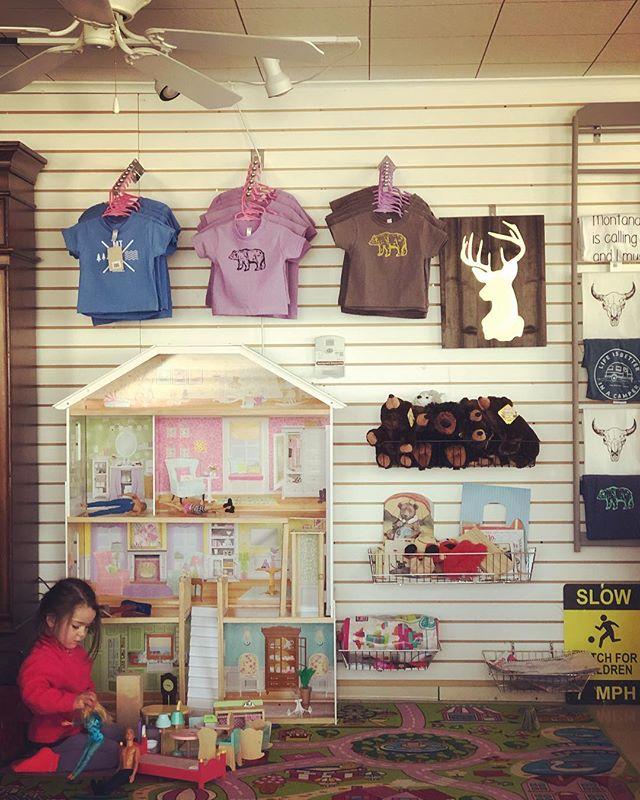 Kids corner @ the store 🧸