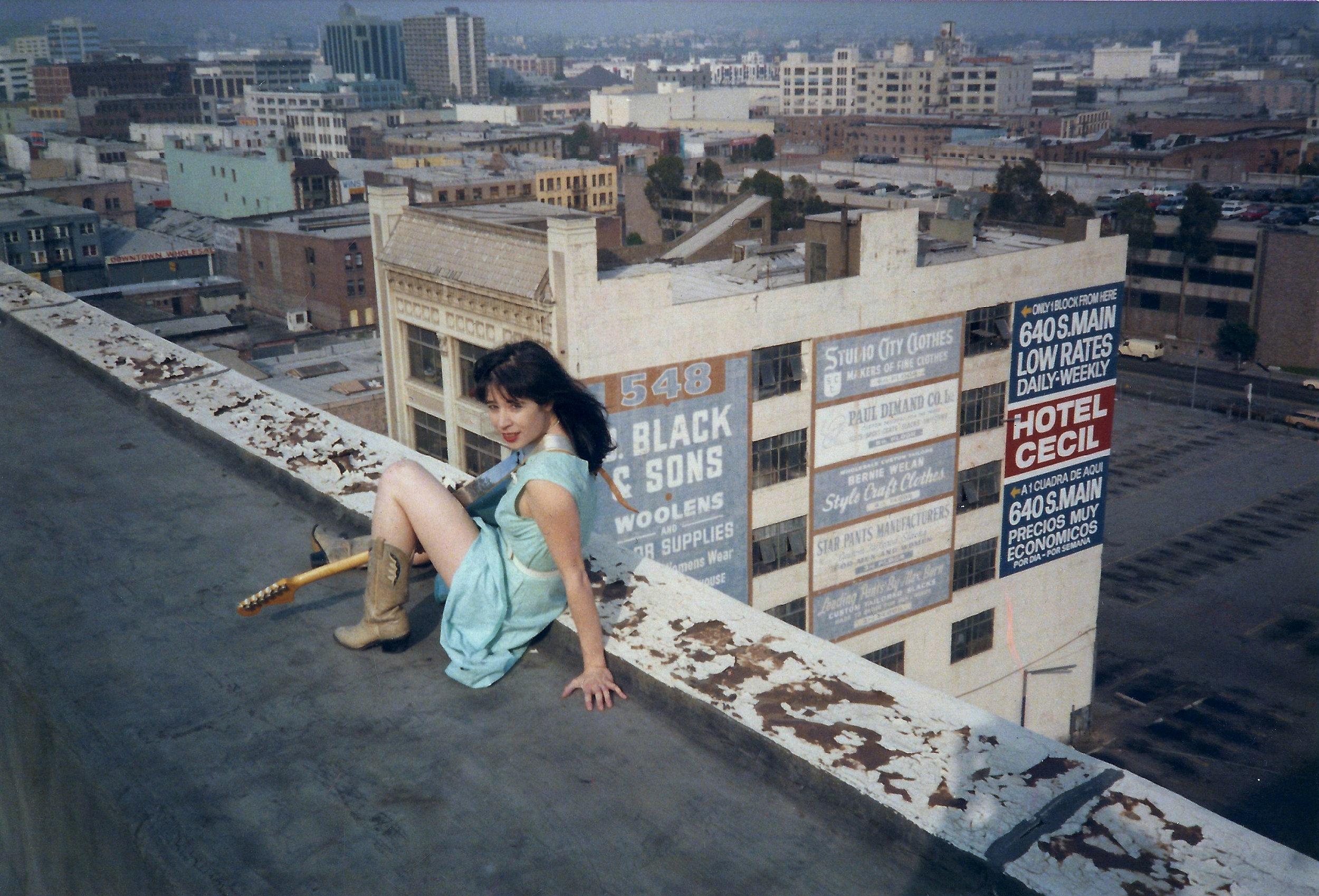 Anny on roof.jpg