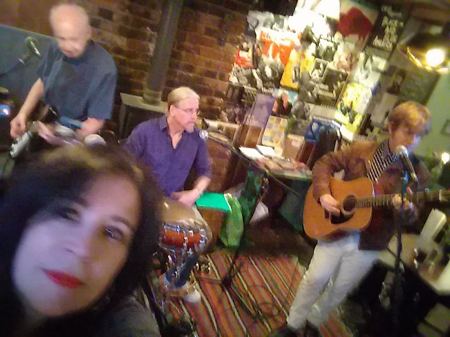 Celsi, Bragg & Maitland with Tony Poole - The Greys, Brighton UK, August 2017