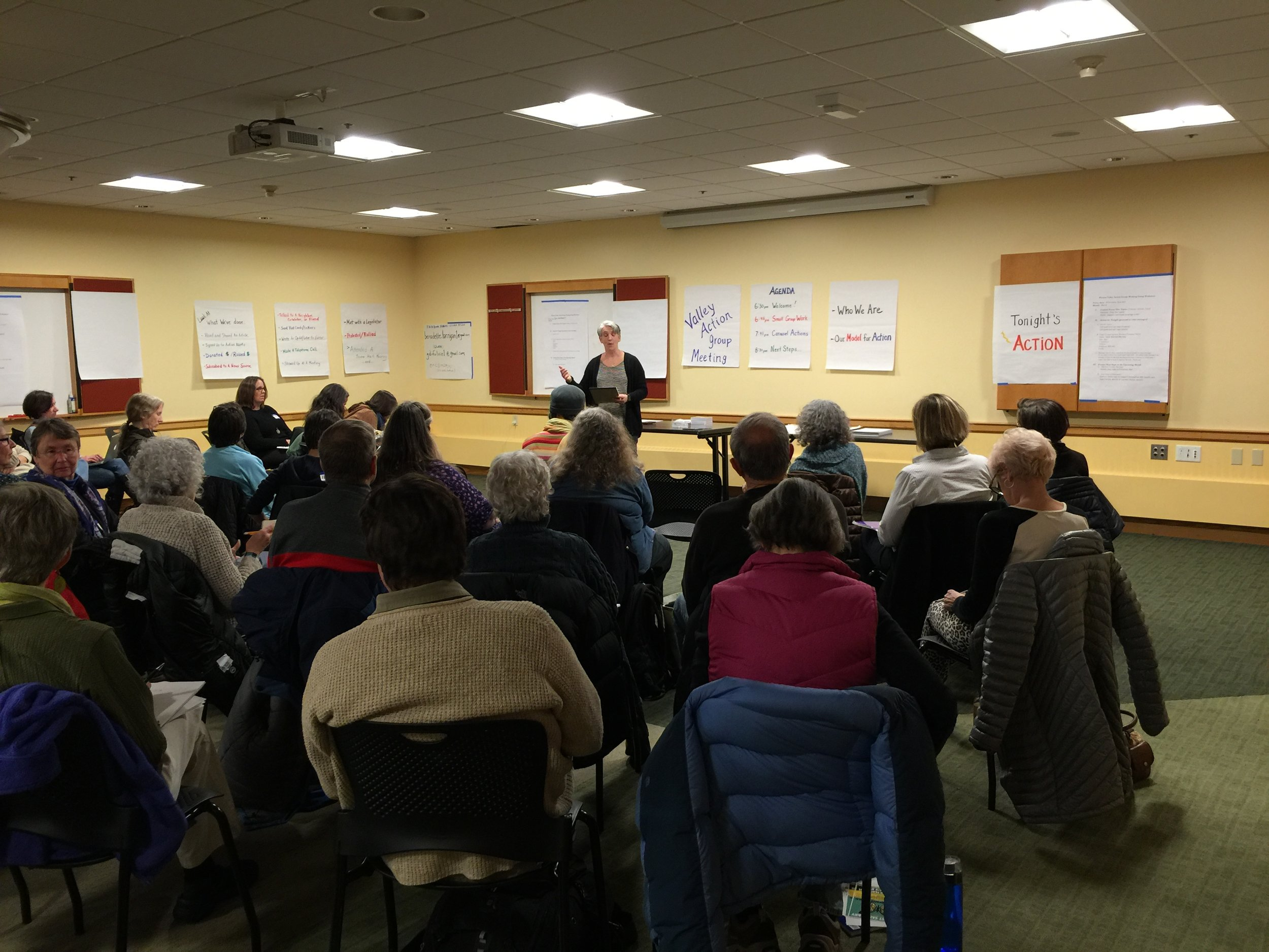 Valley Action Meeting