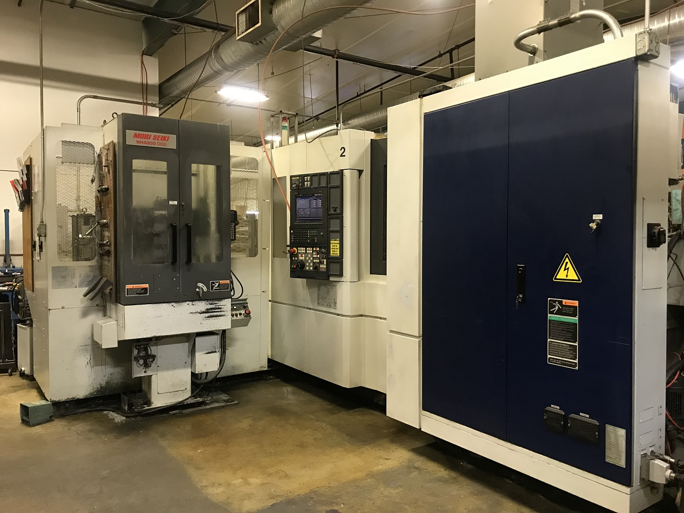 2004 Mori Seiki NH-4000/40 with 6-Station CPP
