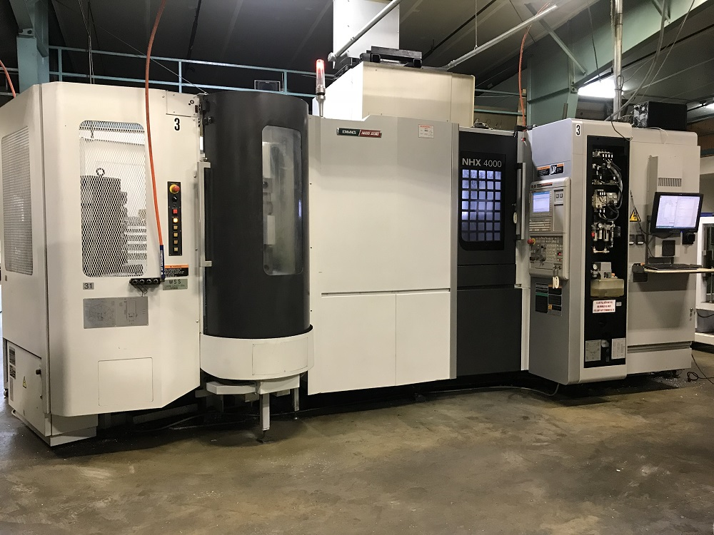 2013 Mori Seiki NHX4000 with 5-Station RPP
